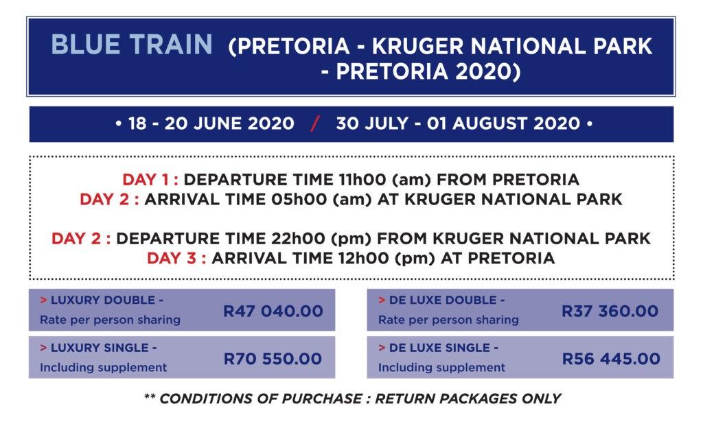 Blue Train Kruger Park