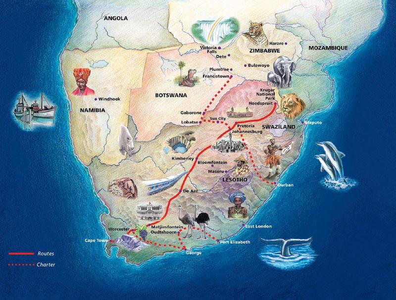 Blue Train Cape Town