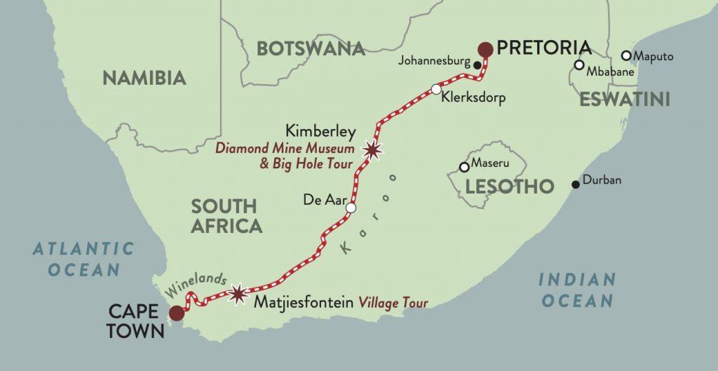Rovos Rail Cape Town