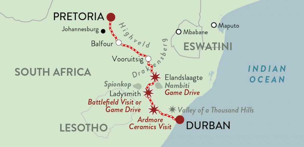 Rovos Durban Safari